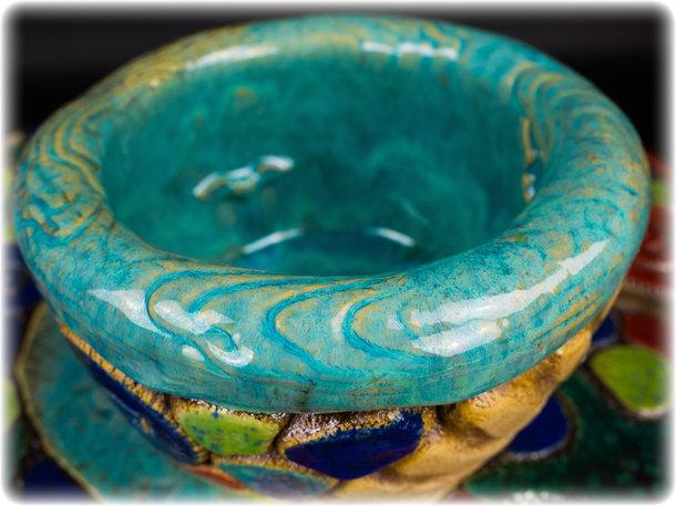 Keramiknapf L Caribbean
