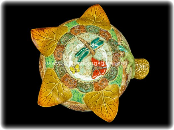 Hummelkugel Smaragdeidechse Insekten Honiggelb