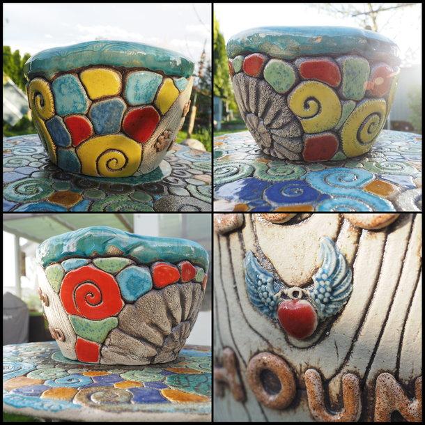 Keramik Hundenapf XL