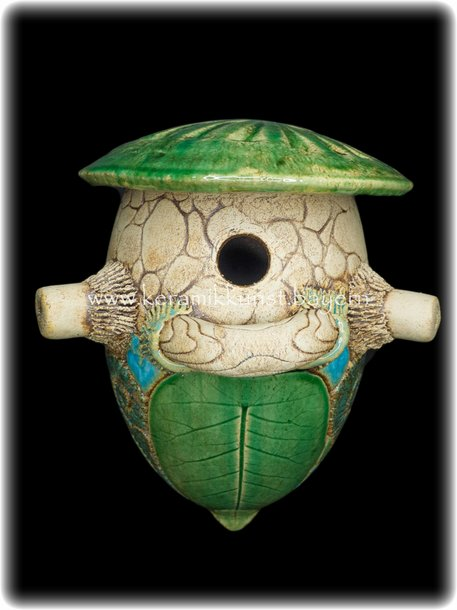 Vogelnistkasten Hoehle Lagune Jumbo Keramik