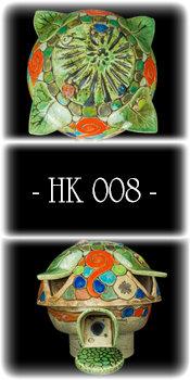 008 Hummelkugel - Mini Schildkröten in Moosgrün
