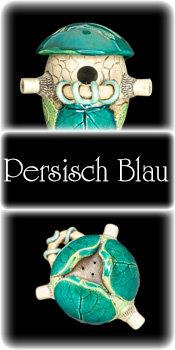 Vogelnisthöhle - Persisch Blau