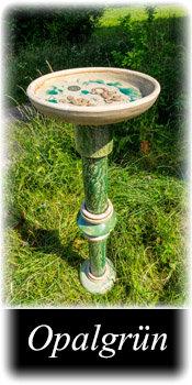 Vogelbadestele - Opalgruen